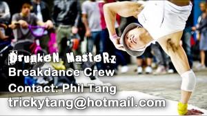 The Masterz breakdance crew