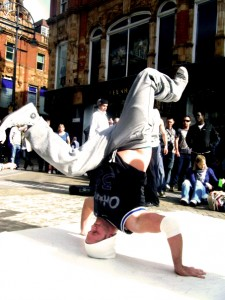 B-Boy Zeus - The Masterz breakdance crew